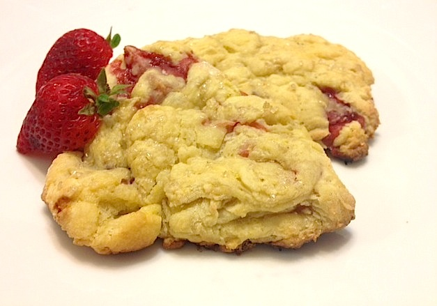 ... from: http://www.twopeasandtheirpod.com/strawberry-ricotta-scones
