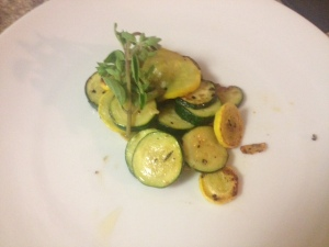 zucchini and squash medley